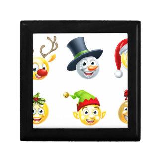 Christmas Emoji Set Keepsake Boxes