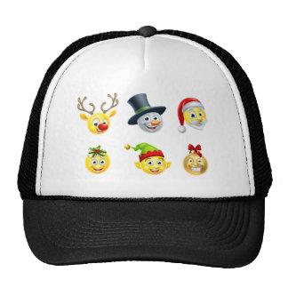 Christmas Emoji Set Trucker Hat