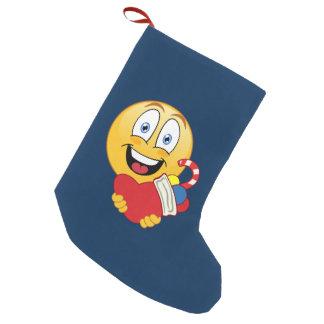 Christmas Emoji Stocking