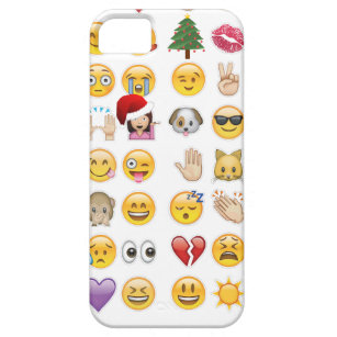 christmas emojis iphone 5 case