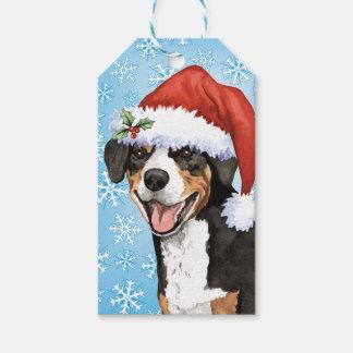 Christmas Entlebucher Gift Tags