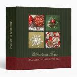 Christmas Essentials binder