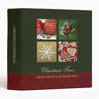 Christmas Essentials binder