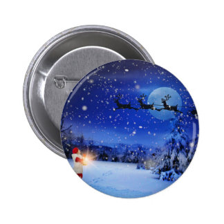 Christmas-Eve 2 Inch Round Button