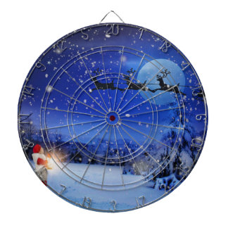 Christmas-Eve Dartboard