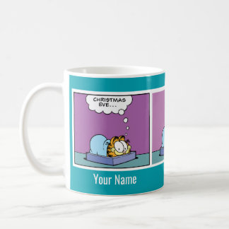 """Christmas Eve"" Garfield Comic Strip Mug"