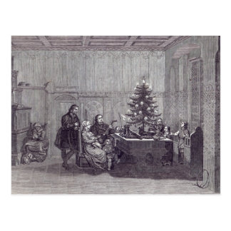 Christmas Eve in Germany Postcard