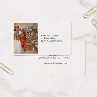 Christmas Eve Julaftonen Business Card
