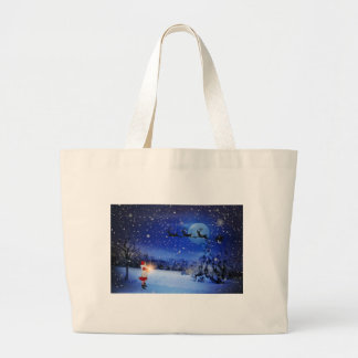 Christmas-Eve Large Tote Bag