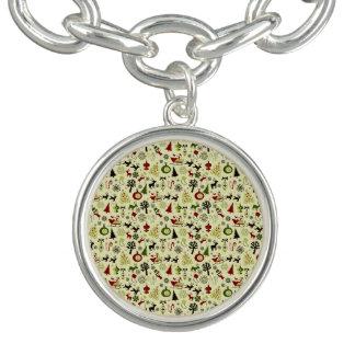 Christmas Eve Pattern Bracelet