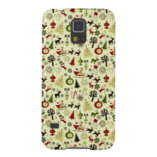 Christmas Eve Pattern Galaxy S5 Case