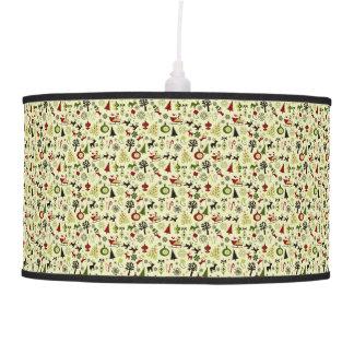 Christmas Eve Pattern Hanging Lamp