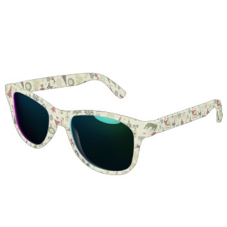 Christmas Eve Pattern Sunglasses