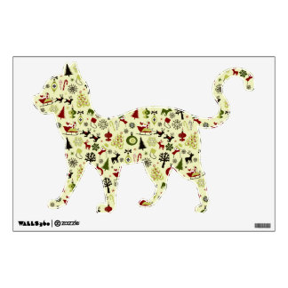 Christmas Eve Pattern Wall Decal