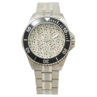 Christmas Eve Pattern Watch