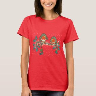Christmas Eve Robins T-Shirt