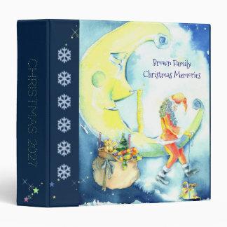 Christmas Eve Santa Family Photo Book Binders