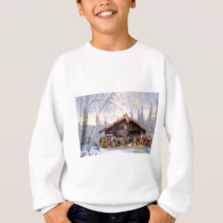 Christmas eve story decoration house sweatshirt