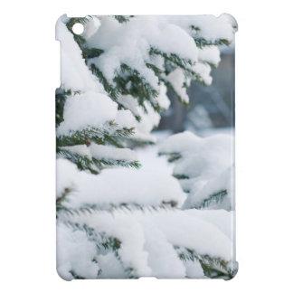 Christmas eve tree snowing iPad mini case