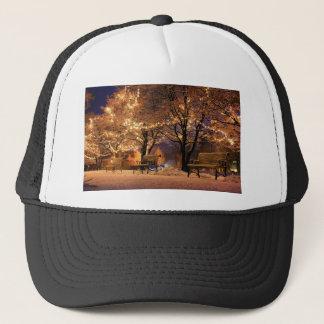 Christmas eve trucker hat