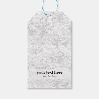 Christmas evergreen eaves gift tags
