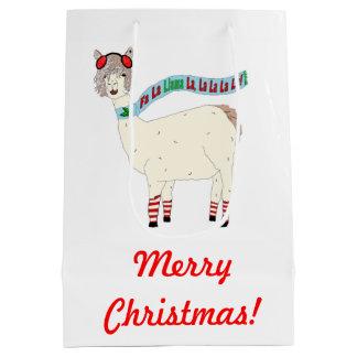 Christmas Fa La Llama La La La La La Gift bag