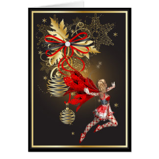 Christmas Faerie Card