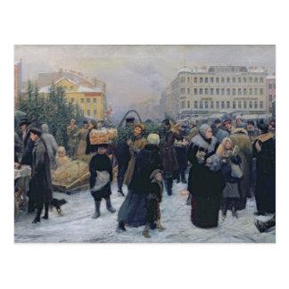Christmas Fair Postcard
