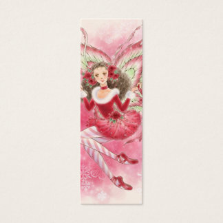 Christmas Fairy Bookmark Mini Business Card