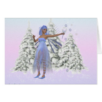 Christmas Fairy Card