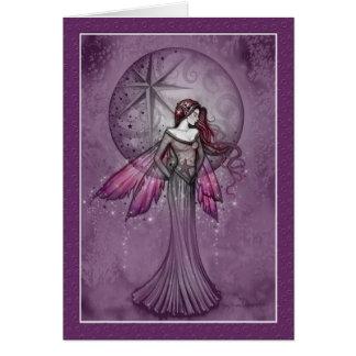 Christmas Fairy Card by Molly Harrison