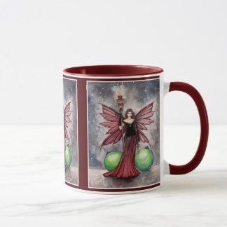 Christmas Fairy Mug by Molly Harrison
