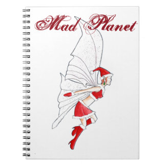 Christmas Fairy Notebook
