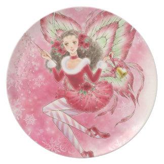 Christmas Fairy Plate