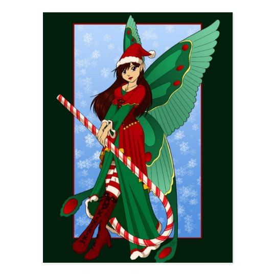 Christmas Fairy Postcard