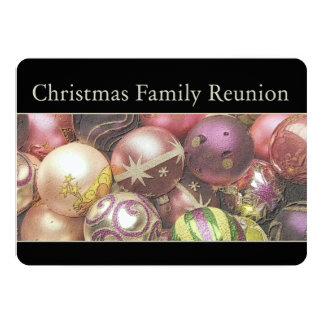 "Christmas Family Reunion 5"" X 7"" Invitation Card"