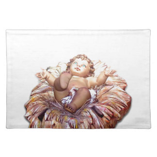 Christmas favor Baby Jesus in Bethlehem Placemat