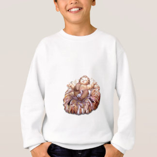Christmas favor Baby Jesus in Bethlehem Sweatshirt