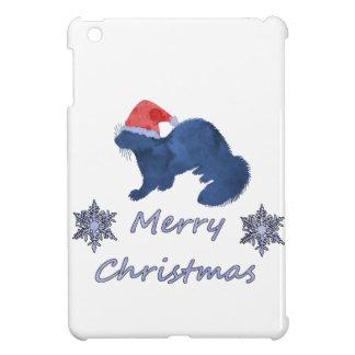 Christmas Ferret iPad Mini Cover