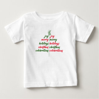 Christmas-Festive-Tree Baby T-Shirt