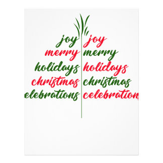 Christmas-Festive-Tree Letterhead