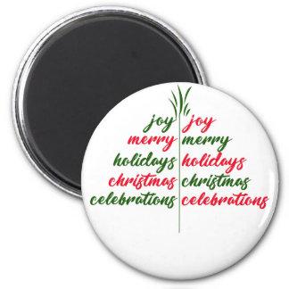 Christmas-Festive-Tree Magnet