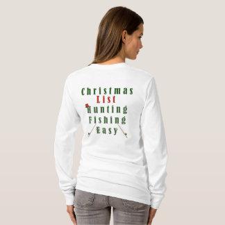 Christmas Fishing T-Shirt