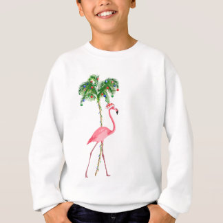 Christmas Flamingo Sweatshirt