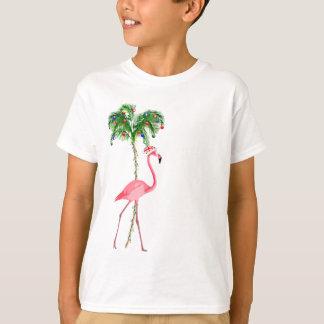 Christmas Flamingo T-Shirt
