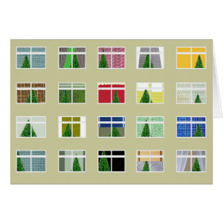 Christmas Flats 1. Card