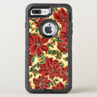 Christmas floral pattern iPhone 7 plus