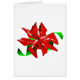 Christmas Flower Card Customizable