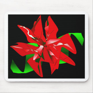 Christmas Flower Customizable Mouse Pad