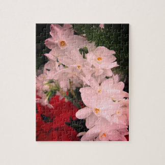Christmas Flowers Relaxing Self-Care Jigsaw Puzzle